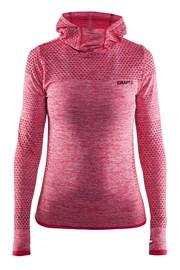 Женская функциональная толстовка Craft Core Hood Seamless Pink