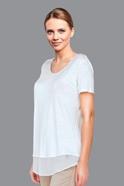 Женская футболка Belen White