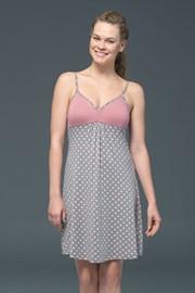 Женская ночная сорочка Rose Dots - модаль