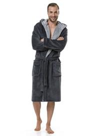 Мужской халат Adam Grey