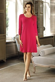 Элегантная сорочка Clara малиновая