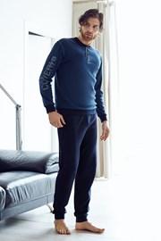 Мужской хлопковый комплект Dario синий