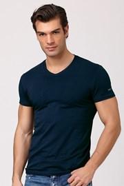 Мужская итальянская футболка Enrico Coveri ET1501 Jeans хлопковая
