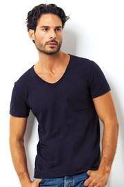 Мужская итальянская футболка Enrico Coveri 1512 Blue