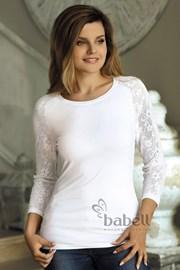 Женская блуза с кружевными рукавами Freya