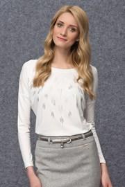 Роскошная женская блуза с мерцающим эффектом Goga