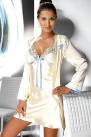 Атласная сорочка Grace Krém