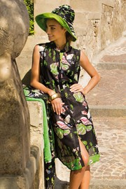 Женское платье Giorgia хлопковое из коллекции Iconique
