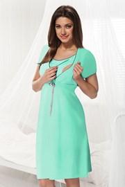 Сорочка для беременных и кормящих мам Dorota мята