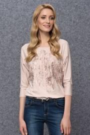 Женская роскошная футболка Kera Pudre
