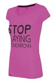 Женская спортивная футболка Stop