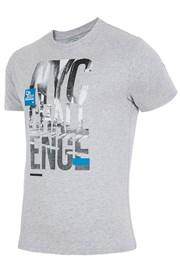 Мужская брендовая футболка  4F TSM020