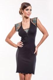 Элегантная сорочка Leda Black