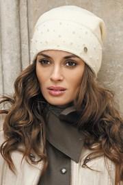 Женская шапка Maria Ecru