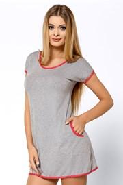 Ночная сорочка с контрастной окантовкой