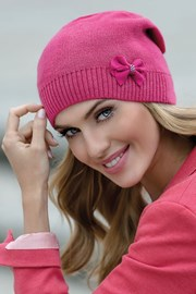 Женская шапка Nikola Pink
