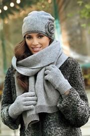 Женский шарфик Pepita grey