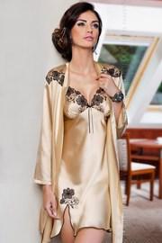 Атласный женский халат Petra