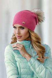 Женская шапка Pia Pink