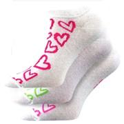 Носки Piki Mix 40 белые - 3шт