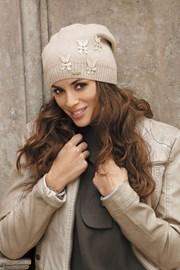 Женская шапка Ramira Beige