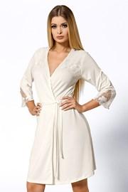 Роскошный халат Salomea Ecru