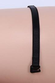 Текстильные бретели 10 мм черные