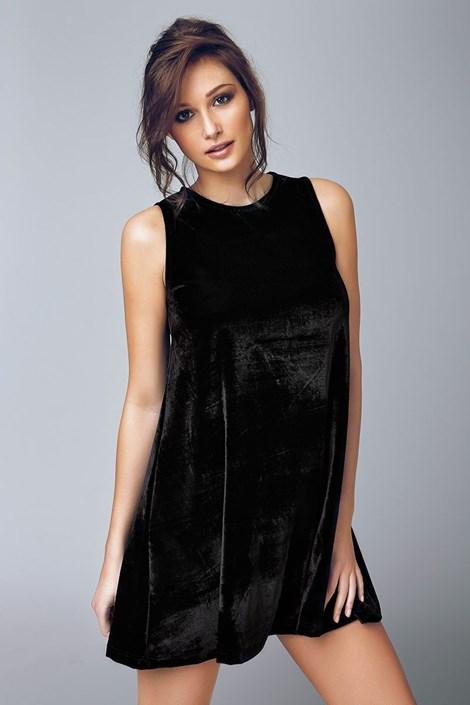 Женское бархатное платье Biagio 4503