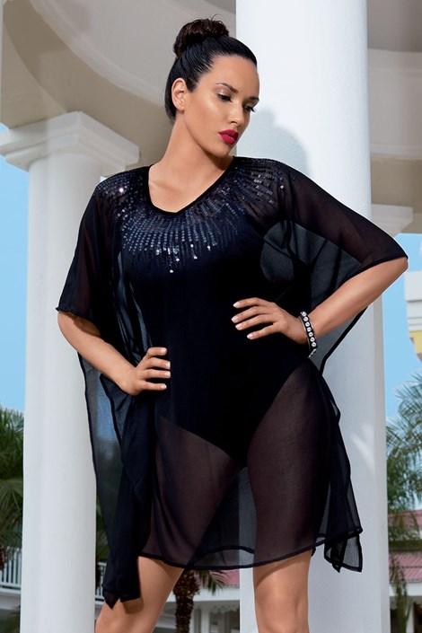 Женское роскошное платье из коллекции Iconique 6606 Black