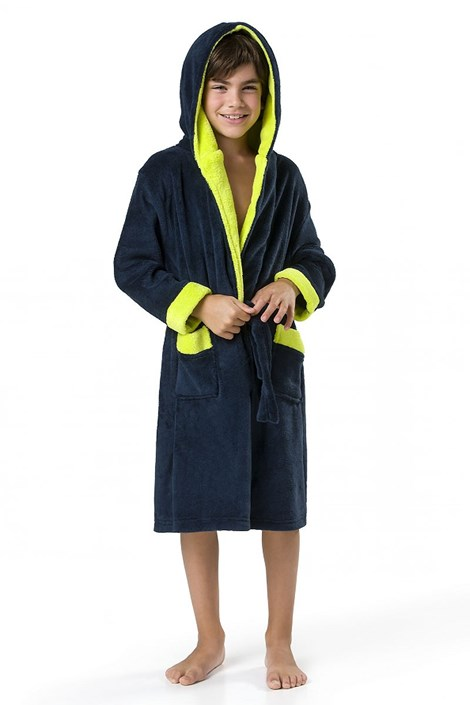 Детский халат Delfino синий