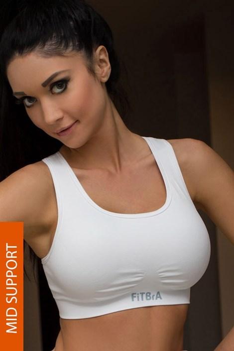 Двухслойный бесшовный спортивный бюстгальтер Fit Bra 06-303