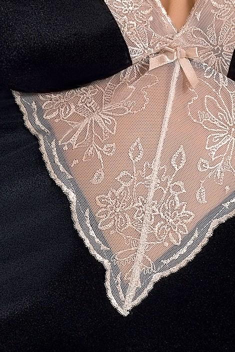 Элегантная сорочка Lotus Black