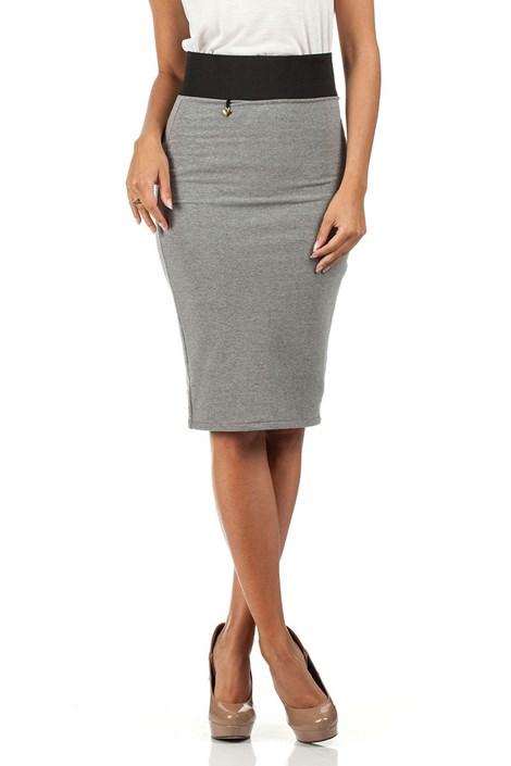 Женская юбка с высоким поясом Moe062