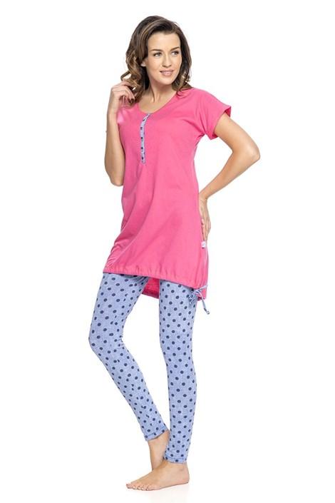Женская пижама для беременных и кормящих мама Rosy
