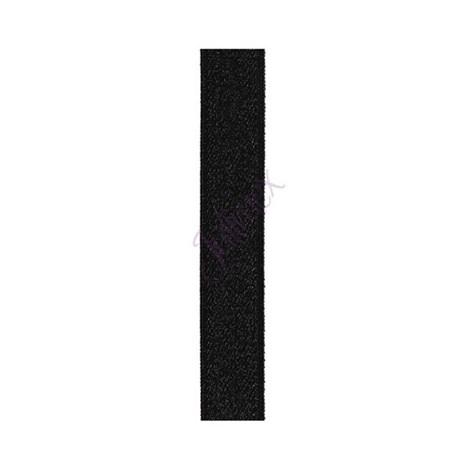Текстильные бретели 14 мм черные