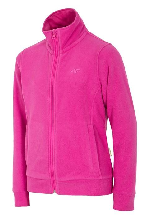 Флисовая толстовка для девочек Pink 4f
