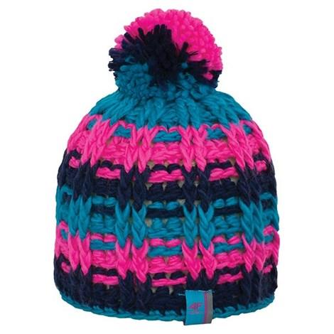 Теплая женская вязанная шапочка Kala