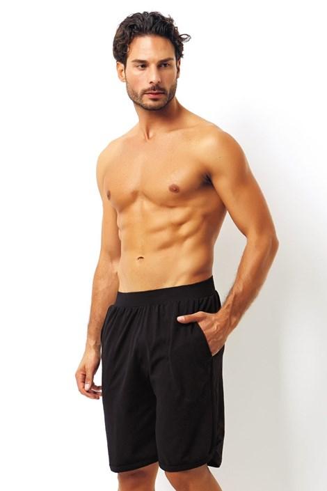 Мужские итальянские пижамные шорты Nero