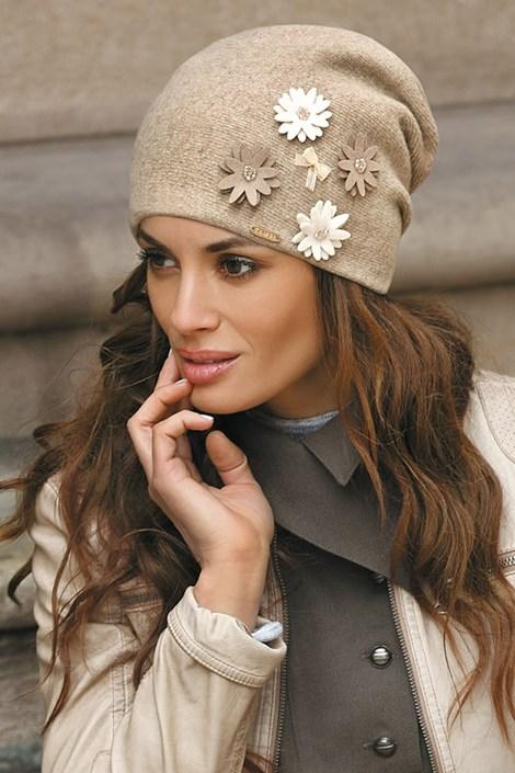 Женская шапка Ernesta Beige