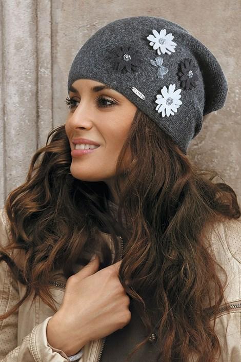 Женская шапка Ernesta Grafit