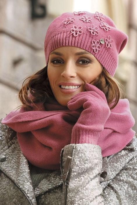 Женская шапка Marianella Pink
