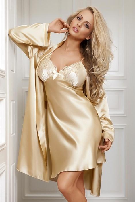 Атласная сорочка  Paris