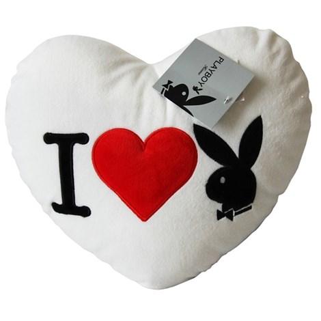 Подушка Heart Bunny White