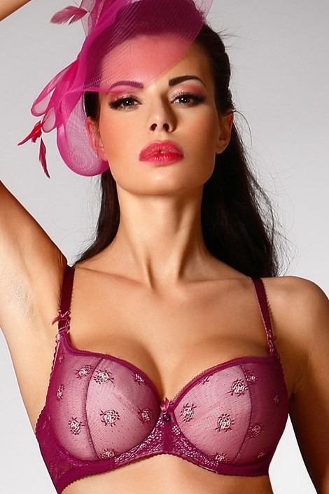 Бюстгальтер Purple Push-Up Half Bardot