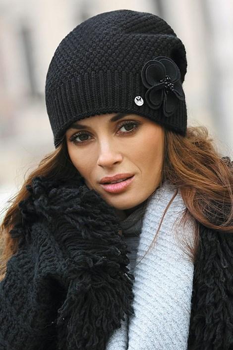 Женская шапка Sawana Black