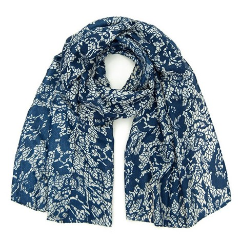 Элегантный шарфик Layse синий