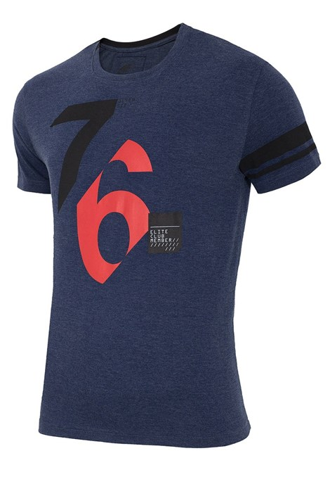 Мужская хлопковая футболка 76 Denim