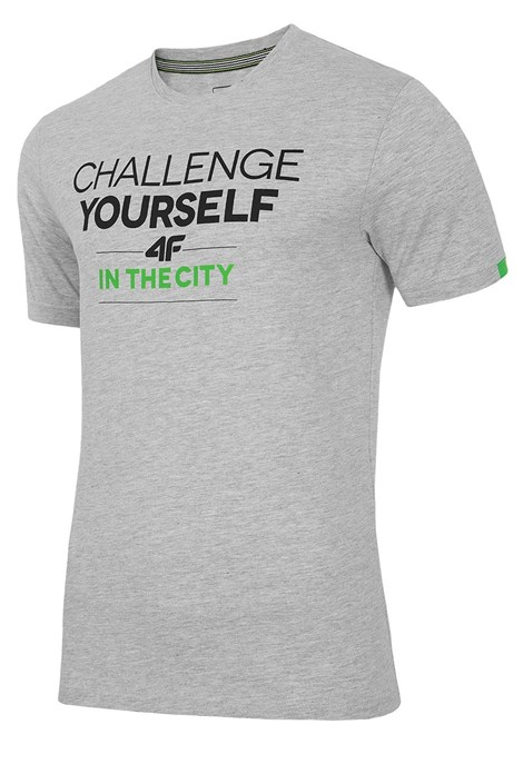 Мужская хлопковая футболка Challenge