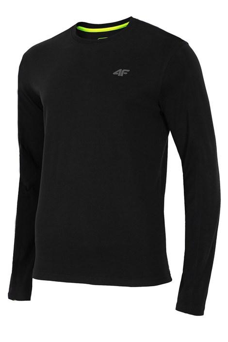 Мужской хлопковый свитер с длинными рукавами Black