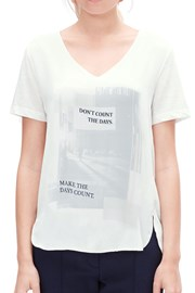 Женская блуза с принтом V1 s.Oliver